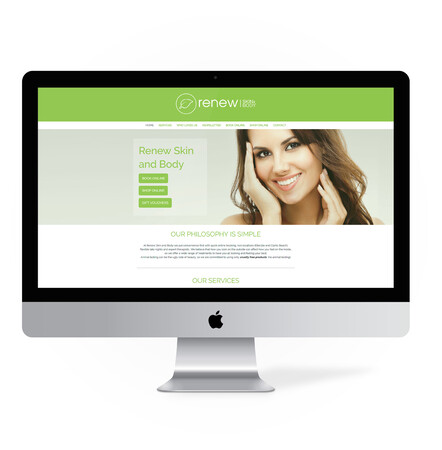 Website Design for Beauty Therapy